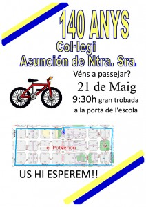 Cartell Bicicletada 1