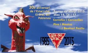 Actes Colla del Drac Festes de Maig 2015