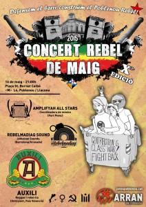10è concert rebel de maig