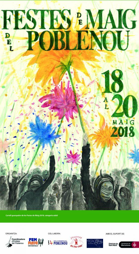 Cartell Festes de Maig 2018